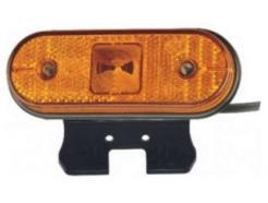 Lanterna Traseira Aspock LED Quadrada com Suporte