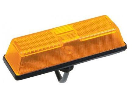 Lanterna Dianteira Para Choque Mercedes e Ford Cargo Amarela