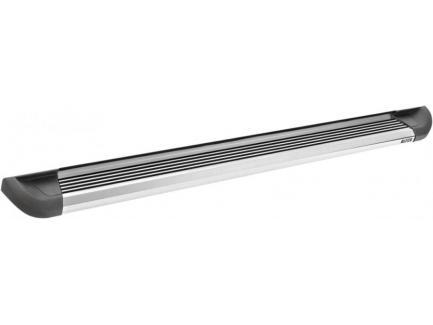 Estribo Hilux Bepo Plataforma em Alumínio Cabine Dupla